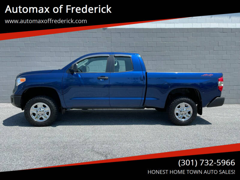2014 Toyota Tundra for sale at Automax of Frederick in Frederick MD