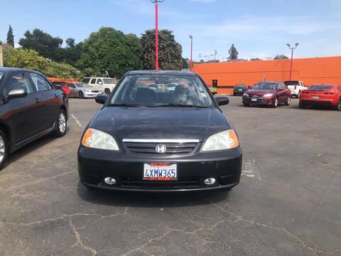2002 Honda Civic for sale at City Motors in Hayward CA