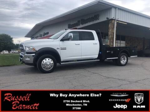 2018 RAM Ram Chassis 4500 for sale at Russell Barnett Chrysler Dodge Jeep Ram in Winchester TN