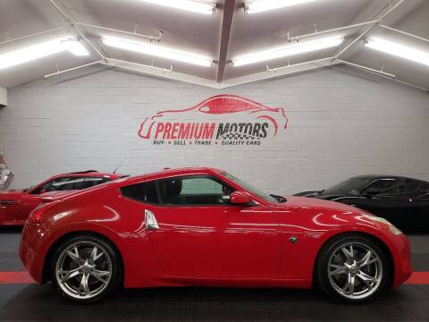 2009 Nissan 370Z for sale at Premium Motors in Villa Park IL
