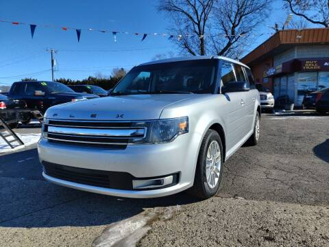 2014 Ford Flex for sale at Lamarina Auto Sales in Dearborn Heights MI