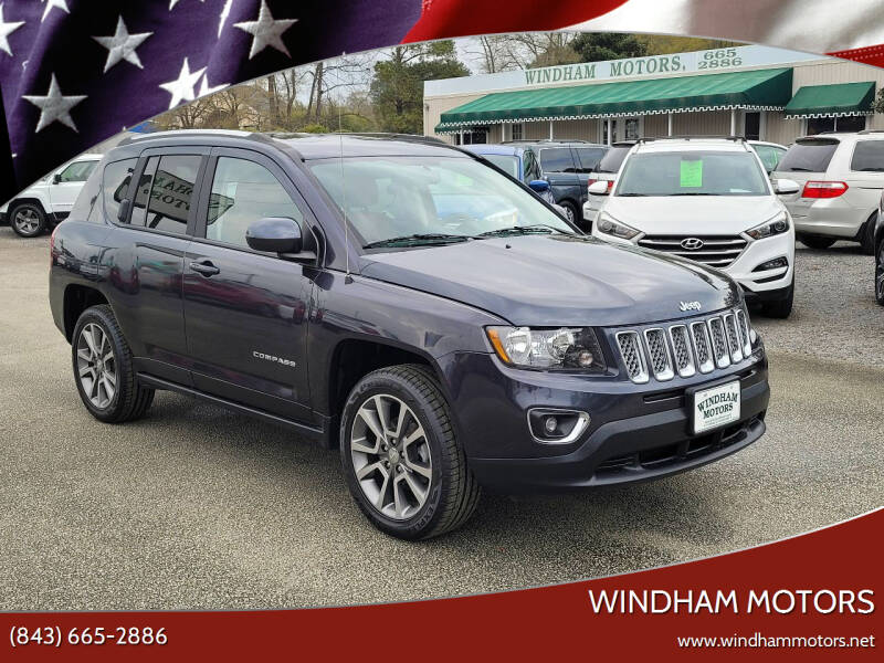 2016 Jeep Compass for sale at Windham Motors in Florence SC