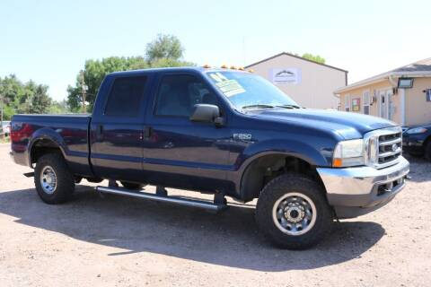 2004 Ford F-250 Super Duty for sale at Northern Colorado auto sales Inc in Fort Collins CO