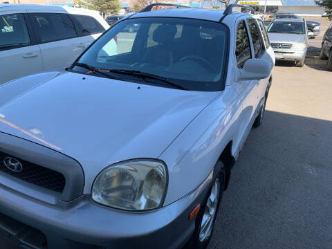 2002 Hyundai Santa Fe for sale at Highbid Auto Sales & Service in Arvada CO