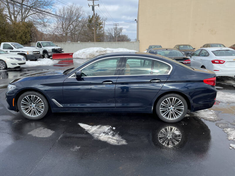2018 BMW 5 Series for sale at My Town Auto Sales in Madison Heights MI