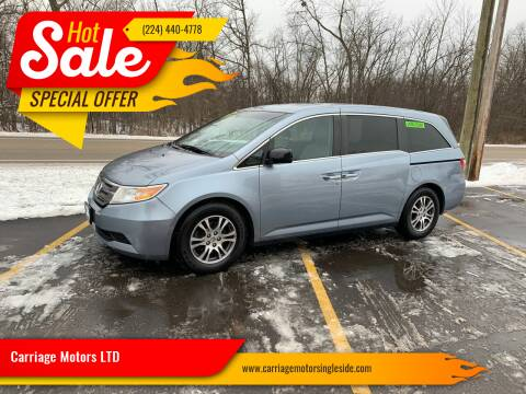 2012 Honda Odyssey for sale at Carriage Motors LTD in Ingleside IL