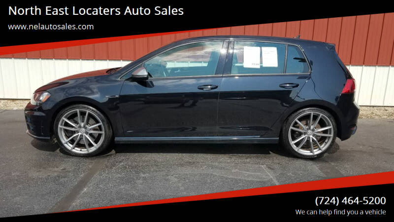 2017 Volkswagen Golf R for sale at North East Locaters Auto Sales in Indiana PA