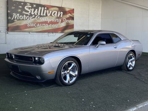 2013 Dodge Challenger for sale at SULLIVAN MOTOR COMPANY INC. in Mesa AZ