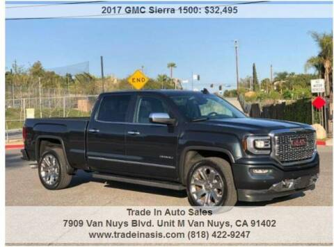 2017 GMC Sierra 1500 for sale at Trade In Auto Sales in Van Nuys CA
