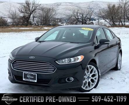2013 Ford Fusion for sale at Premier Auto Group in Union Gap WA