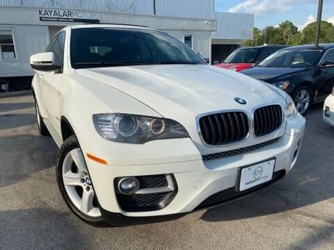 2014 BMW X6 for sale at KAYALAR MOTORS in Houston TX
