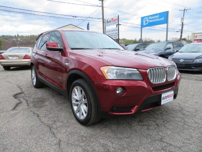 2014 BMW X3 for sale at Auto Match in Waterbury CT