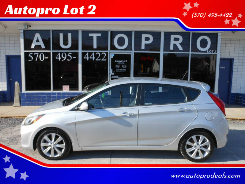 2012 Hyundai Accent for sale at Autopro Lot 2 in Sunbury PA