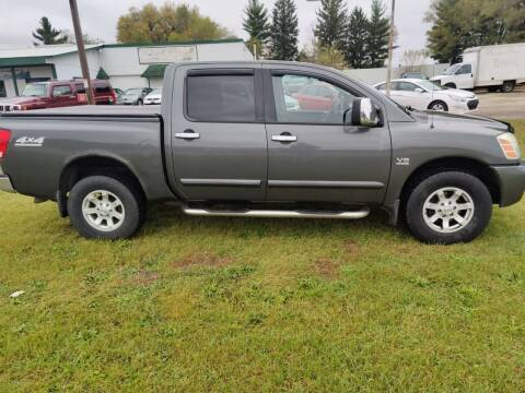 2004 Nissan Titan for sale at SCENIC SALES LLC in Arena WI