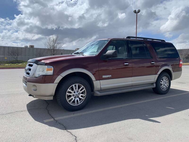 2008 Ford Expedition EL for sale at BELOW BOOK AUTO SALES in Idaho Falls ID