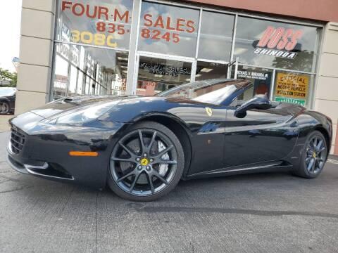 2010 Ferrari California for sale at FOUR M SALES in Buffalo NY