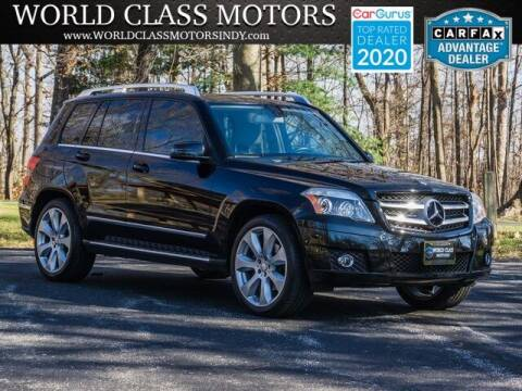 2010 Mercedes-Benz GLK for sale at World Class Motors LLC in Noblesville IN