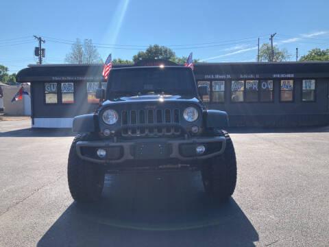 2016 Jeep Wrangler for sale at Savannah Motors in Belleville IL