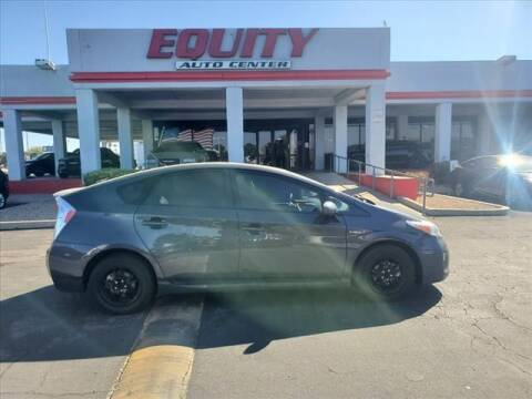 2015 Toyota Prius for sale at EQUITY AUTO CENTER in Phoenix AZ