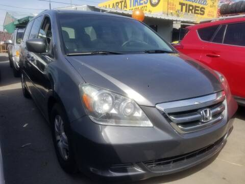 2007 Honda Odyssey for sale at Ournextcar/Ramirez Auto Sales in Downey CA