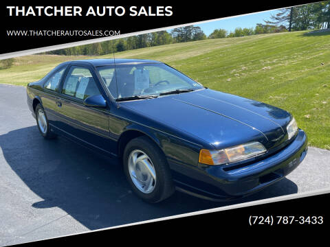 1989 Ford Thunderbird for sale at THATCHER AUTO SALES in Export PA