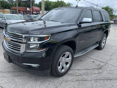 2015 Chevrolet Tahoe for sale at Castle Used Cars in Jacksonville FL