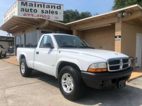 2004 Dodge Dakota for sale at Mainland Auto Sales Inc in Daytona Beach FL