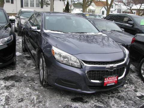 2015 Chevrolet Malibu for sale at CLASSIC MOTOR CARS in West Allis WI