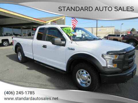 2016 Ford F-150 for sale at Standard Auto Sales in Billings MT