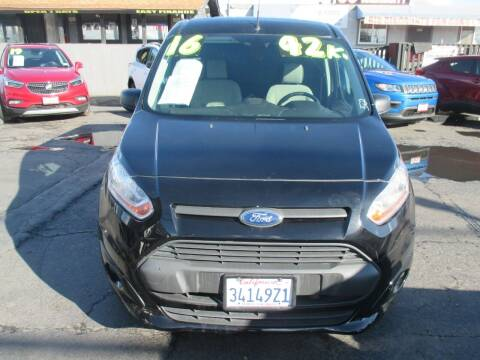 2016 Ford Transit Connect Cargo for sale at Quick Auto Sales in Modesto CA