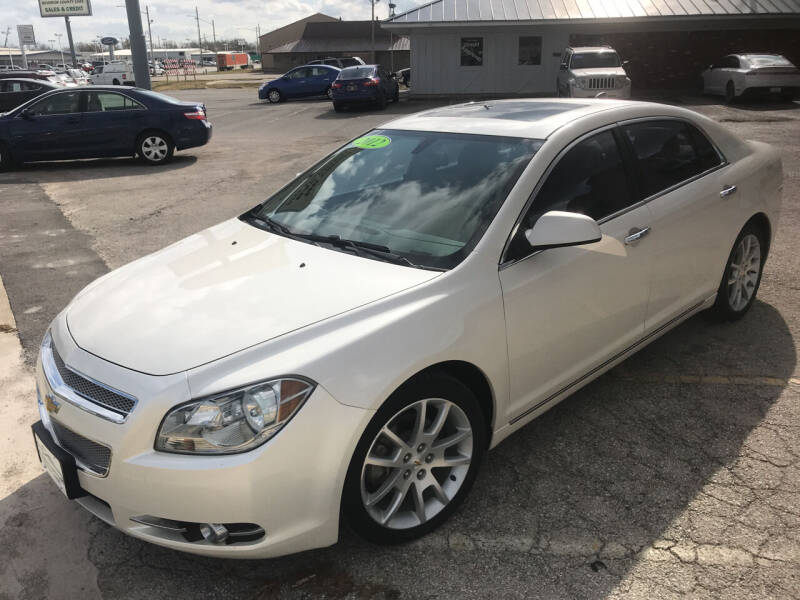 2012 Chevrolet Malibu LTZ 4dr Sedan w/2LZ - Fort Scott KS