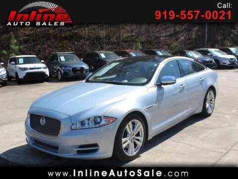 2014 Jaguar XJ for sale at Inline Auto Sales in Fuquay Varina NC