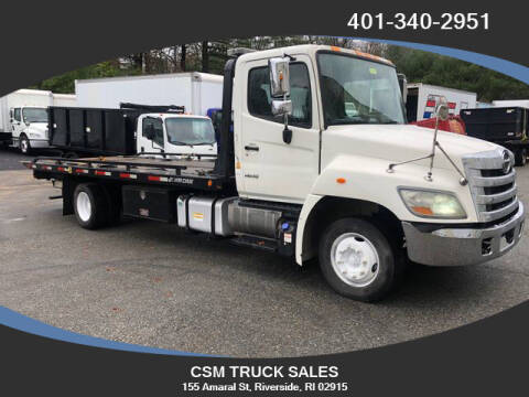 2012 Hino 258 for sale at CSM TRUCK SALES in Riverside RI