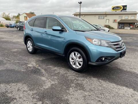 2014 Honda CR-V for sale at Riverside Auto Sales & Service in Portland ME