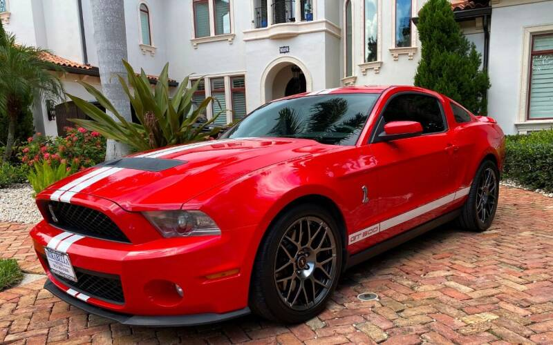 2012 Ford Shelby GT500 for sale at Mirabella Motors in Tampa FL