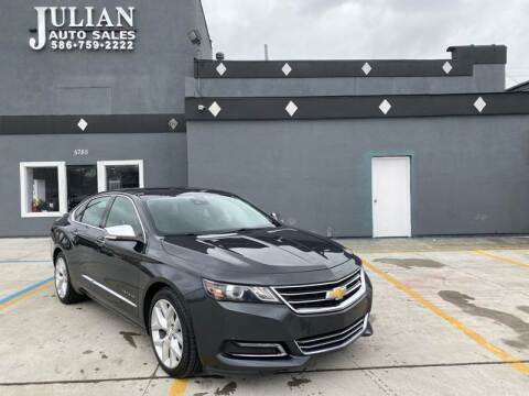 2014 Chevrolet Impala for sale at Julian Auto Sales, Inc. in Warren MI