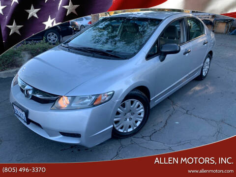 2011 Honda Civic for sale at Allen Motors, Inc. in Thousand Oaks CA