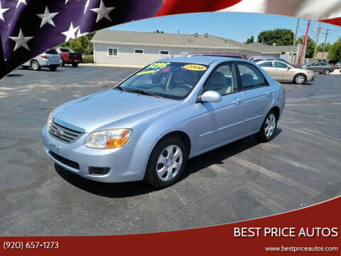 2008 Kia Spectra for sale at Best Price Autos in Two Rivers WI