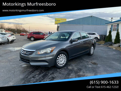 2012 Honda Accord for sale at Motorkings Murfreesboro in Murfreesboro TN