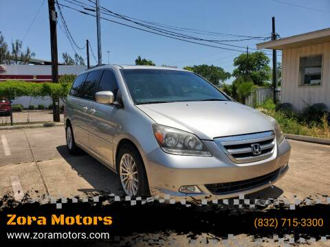 2007 Honda Odyssey for sale at Zora Motors in Houston TX
