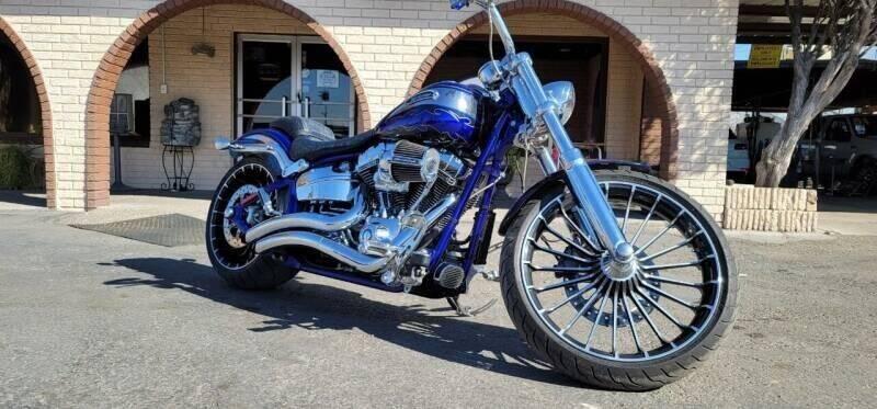 2014 Harley-Davidson FXSBSE CVO BREAKOUT for sale at FRANCIA MOTORS in El Paso TX