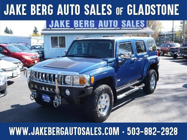 2006 HUMMER H3 for sale at Jake Berg Auto Sales in Gladstone OR