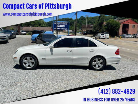 2003 Mercedes-Benz E-Class for sale at Compact Cars of Pittsburgh in Pittsburgh PA