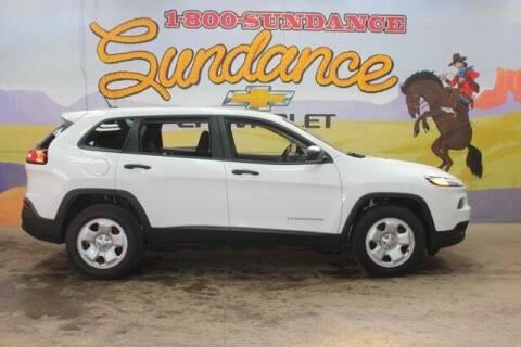 2015 Jeep Cherokee for sale at Sundance Chevrolet in Grand Ledge MI