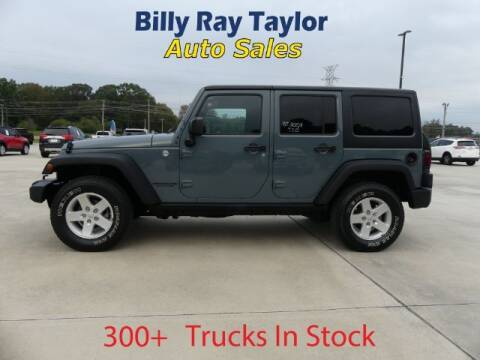 2015 Jeep Wrangler Unlimited for sale at Billy Ray Taylor Auto Sales in Cullman AL