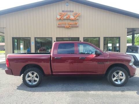 2018 RAM Ram Pickup 1500 for sale at K & L AUTO SALES, INC in Mill Hall PA