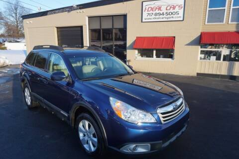 2011 Subaru Outback for sale at I-Deal Cars LLC in York PA