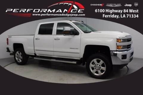2018 Chevrolet Silverado 2500HD for sale at Auto Group South - Performance Dodge Chrysler Jeep in Ferriday LA