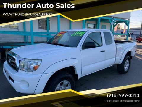 2005 Toyota Tacoma for sale at Thunder Auto Sales in Sacramento CA