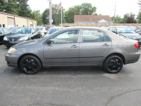 2007 Toyota Corolla for sale at Home Street Auto Sales in Mishawaka IN